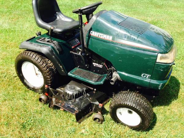 Craftsman 26 Hp Garden Tractor | Droughtrelief org
